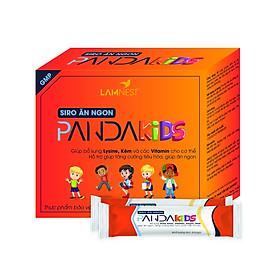 Combo 5 hộp Siro ăn ngon bổ dưỡng Pandakids cho bé - Lamnest ( Hộp 30 gói nhỏ )