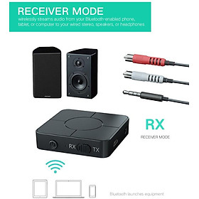 Bluetooth 5.0 Receiver Portable Wireless Audio Transmitter and Receiver