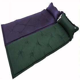 Outdoor Automatic Inflatable Camping Mat 1 Person Cushion Moistureproof Pad Tent Soft  Mat