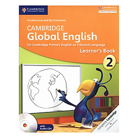 Cambridge Global English Stage 2: Learner Book with Audio CD