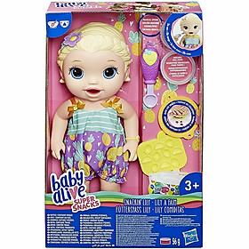 Bé Lily Tập Ăn Dặm Baby Alive E5841