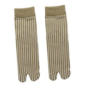 Elastic Cotton Tabi Socks 2 Toe Socks Flip-Flops Socks Unisex