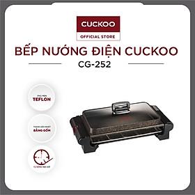 Vỉ nướng điện Cuckoo CG-252 - HÀNG CHÍNH HÃNG