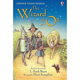 Usborne Young Reading Series Two: The Wizard of Oz + CD