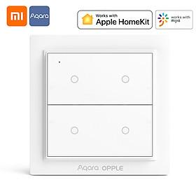 Xiaomi Youpin Aqara|OPPLE Wireless Switch Smart Homekit Working with Mi Home App Magnetic Wall Switch Zigbee 3.0