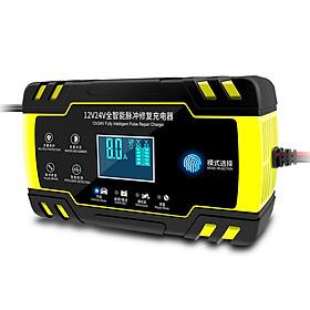 Sạc bình ắc quy 12V 24V 4-150Ah có chức năng khử sunfat phục hồi bảo dưỡng ắc quy