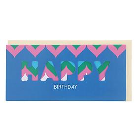 Thiệp Photostory Die-Cut A3 Happy Birthday 6