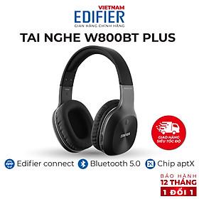 Tai nghe chụp tai Bluetooth 5.0 thể thao EDIFIER W800BT Plus Chống ồn - Hàng chính hãng