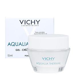 Gel Dưỡng Ẩm Kích Hoạt & Giữ Nước Cho Da Thường & Da Khô Vichy Aqualia Thermal Rehydrating Light Cream 15ml