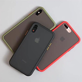 Ốp Rock  Lưng Nhám dành cho  Iphone 6_6s_7_8_6plus_6splus_7plus_8plus_X_Xs_Xsmax_11_11pro max