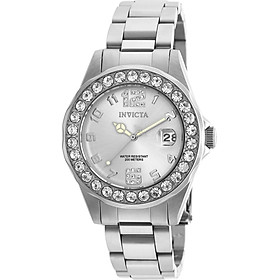 Invicta Women's 21396 Pro Diver Silver-Tone Stainless Steel Watch