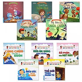 Combo 2 bộ sách giúp bé những bài học hay: Bộ Kỹ Năng Ứng Xử + Bộ truyện Hạt Giống Tâm Hồn