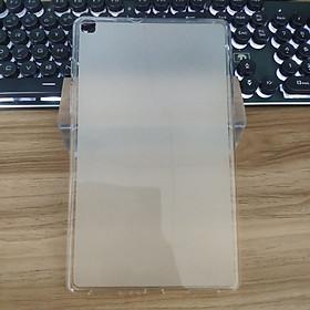 """Ốp lưng silicon chống bám vân tay cho Máy Tính Bảng Samsung Galaxy Tab A8 8"""" T295 (2019) - Trong mờ"""