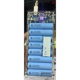 sạc dự phòng 24.000mah ~ 25.000mah sạc nhanh 9v 2a (Box mới, mạch cũ, pin cũ)
