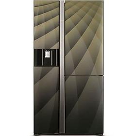 Tủ lạnh SBS 3 cánh HITACHI R-FM800AGPGV4X (DIA) 584 Lít (HÀNG CHÍNH HÃNG)