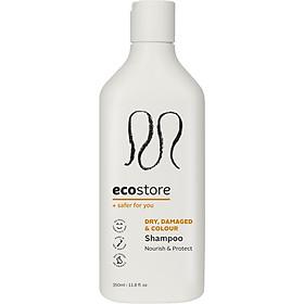 Dầu gội dành cho tóc hư tổn và tóc nhuộm gốc thực vật Ecostore 350ml