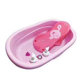 Chậu tắm trẻ em kèm nhiệt kế