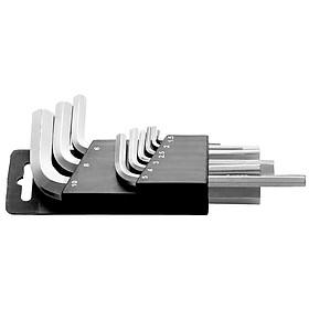 Bộ Lục Giác 9 Chi Tiết (1.5, 2, 2.5, 3, 4, 5, 6, 8, 10mm) Tramontina- Hàng Chính Hãng