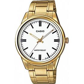 Đồng hồ nam dây kim loại Casio MTP-V005G-7AUDF