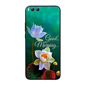 Ốp lưng dành cho điện thoại Xiaomi Mi 6 in họa tiết Good morning