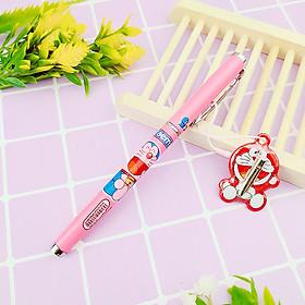 Bút máy Doremon chất lượng tốt tặng kèm ngòi bút - bút mực doremon rèn chữ đẹp (giao màu ngẫu nhiên)
