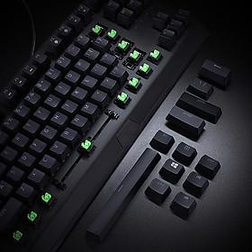 Bàn phím cơ Razer BlackWidow X Tenkeyless Bàn phím chơi game có dây 87 Phím Bàn phím thể thao Bàn phím cơ màu xanh lá cây Công tắc cơ học