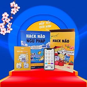 [Hộp sách Tết 2021 - Phiên bản giới hạn] Sách Hack Não Ngữ Pháp kèm Hack Não Notebook hữu ích - Tặng App Hack Não Pro học ngữ pháp tiếng Anh miễn phi