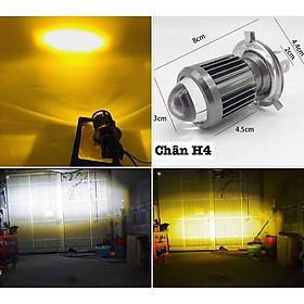 Đèn led Bi cầu H4 Mini siêu sáng cos vàng pha trắng (loại rẻ , không BH ) Green Networks Group