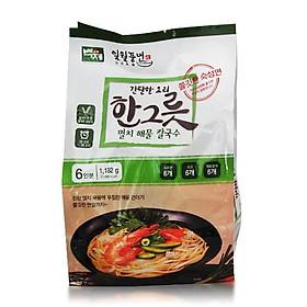 Baekje Anchovy Seafood Noodle Soup 197g x 6p