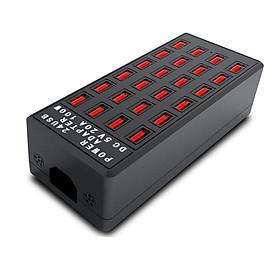 Bộ sạc điện thoại 24 cổng USB 5V-20A 100W Hỗ trợ sạc nhiều thiết bị cùng lúc