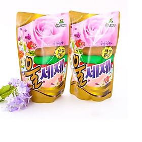 Combo 2 gói nước giặt len dạ Sandokkaebi 500ml Hàn Quốc