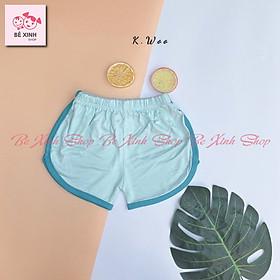 Quần đùi quần thun ngắn cho bé trai bé gái quần cho bé đùi trai gái trẻ em vải thun lạnh quần đùi  vải thun ngắn quần short chip quần lẻ cho bé