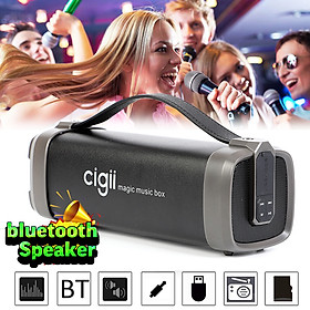 Portable bluetooth Wireless Subwoofer Bass Speaker Stereo