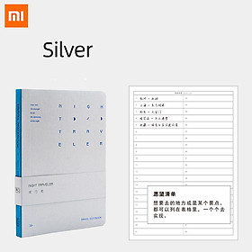 Xiaomi Ecological Chain Kinbor Night Walker B6 Series Notebook Can Be Written Flat At 180 Degrees Note Book Four Kinds Inner Page Office Writing Notebook Pocket Notepad Portable Business Office Study Stationery