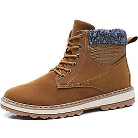 Giày Nam Cổ Cao BT10- Màu Vàng