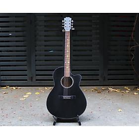 Đàn guitar acoustic có ty chỉnh cần ( pick , giáo trình )