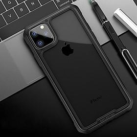 Ốp Lưng Kính PC + TPU Armor cho iPhone 11 Pro Max