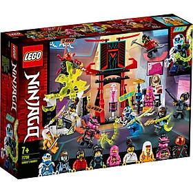 Mô hình đồ chơi lắp ráp LEGO NINJAGO Sàn Đấu Game Thủ 71708 ( 218 chi tiết )