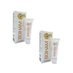 [COMBO 2 TUÝP] Kem giảm hăm BOIHAM Cream bảo vệ da bé làm lành, làm dịu và bảo vệ mông bị kích thích của trẻ sơ sinh, trong khi cho phép da thở để ngăn chặn hăm. hàng chính hãng