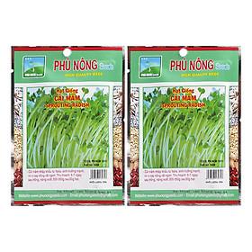 Bộ 2 Gói Hạt Giống Cải Mầm Phú Nông (100g / Gói)