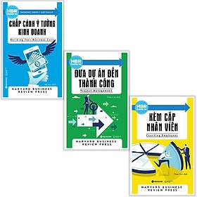 Combo sách kỹ năng làm việc hay : Chắp cánh ý tưởng kinh doanh + Đưa dự án đến thành công + Kèm cặp nhân viên - Tặng kèm Postcard HAPPY LIFE