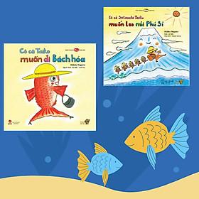 """""""Cô cá Taiko"""" - Series 2 cuốn tranh truyện Ehon Nhật Bản kích thích khả năng quan sát cho trẻ từ 3-6 tuổi trở lên."""