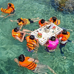 Tour 3N3Đ Đảo Bình Hưng - Bình Ba - BBQ Hải Sản - Bar Trên Biển, Khởi Hành Hàng Tuần & Dịp Lễ