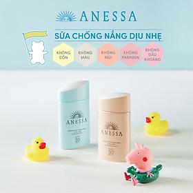 Sữa Chống Nắng Cấp Ẩm Anessa Moisture UV Sunscreen Skincare Mild Milk 60ml