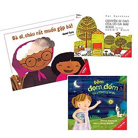 Combo 3 cuốn Picturebook song ngữ: Chuyến đi dạo của cô gà mái Rosie + Đêm đom đóm + Bà ơi cháu rất muốn gặp bà
