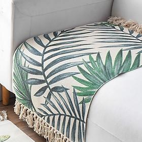 Thảm cotton canvas trang trí trải sàn 60x90cm