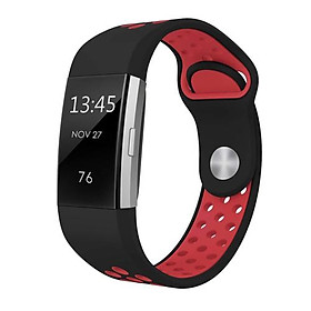 Dây Đeo Thay Thế Vòng Tay Thể Thao Silicone Mềm Cho Fitbit Charge 2