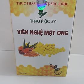 Combo Viên nghệ mật ong Thảo mộc 37 (1 Hũ 500g + 1 túi 100g)