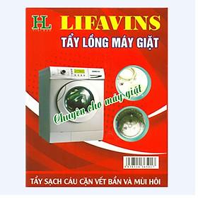 Combo 4 hộp tẩy lồng máy giặt lifavins