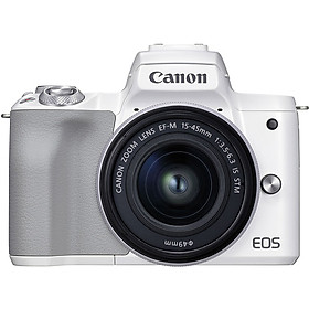 Canon EOS M50 Mark II + 15-45mm Black (Chính Hãng)